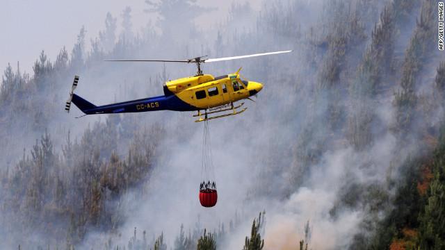 Un grupo radical podría ser el responsable de los incendios en Chile