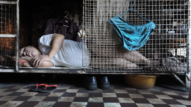 Overheard on CNN.com: Hong Kong's cage homes sadden some readers