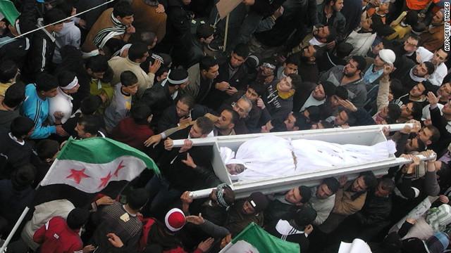 En medio de reportes de muertos, Siria espera resultado de reunión de Liga Árabe
