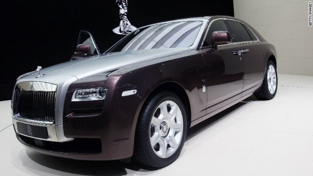 Prices for the Rolls-Royce Ghost start at 200,000 but that can double when special options are added. Industry expert Paul Nieuwenhuis says it is an exceptionally fine car.