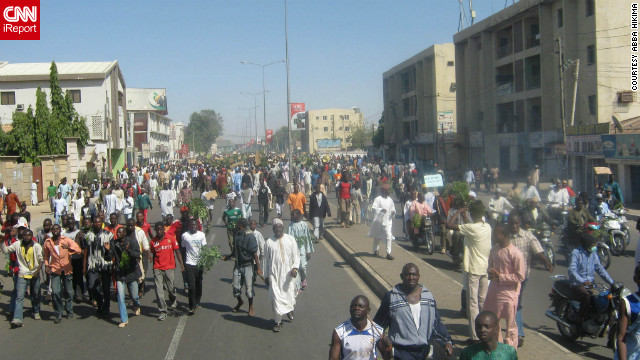 iReport: Occupy Nigeria protests