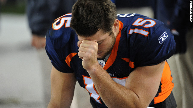 Quarterback moves to trademark 'Tebowing'