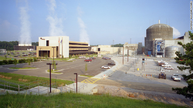 The River Bend nuclear power station is located 24 miles northwest of Baton Rouge, Louisiana.