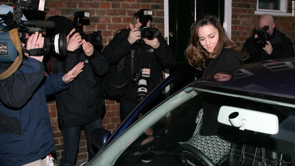 Kate Middleton como objeto mediático