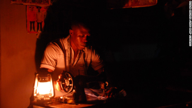 Evan Mills, from the Lumina Project, has calculated that those without electric light in the developing world collectively spend $38 billion a year on kerosene. On top of which, the light it produces is dim, and ill-suited for use in delicate work, such as tailoring.
