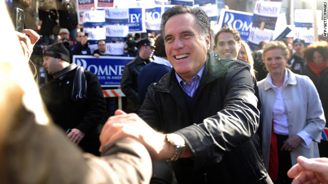 CNN projects: Romney 1st in New Hampshire primary, Paul second