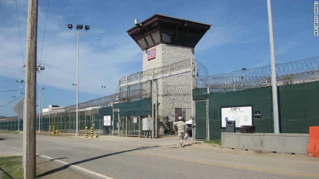 Guantanamo Bay detainees watched inauguration, spokesman says