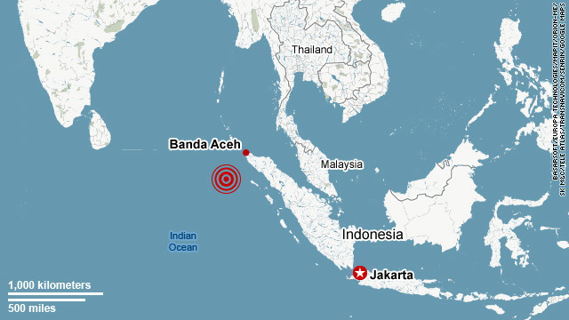 7.3 magnitude quake hits off Indonesia's Sumatra island