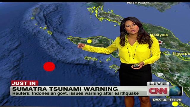 Terremoto de 7.3 grados en Sumatra; declaran alerta de tsunami