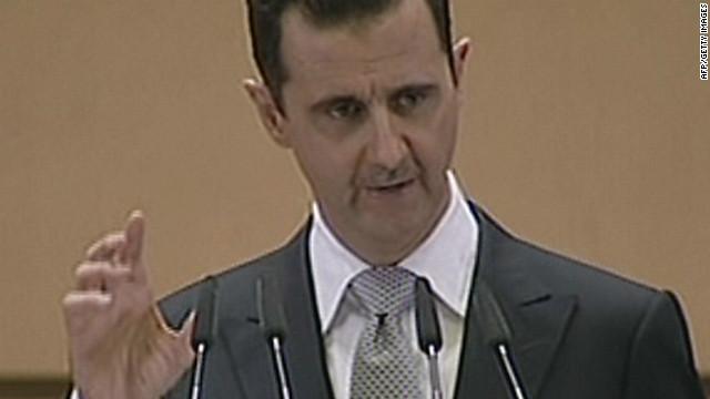 Al-Asad dice que una «conspiración externa» está detrás de la violencia en Siria