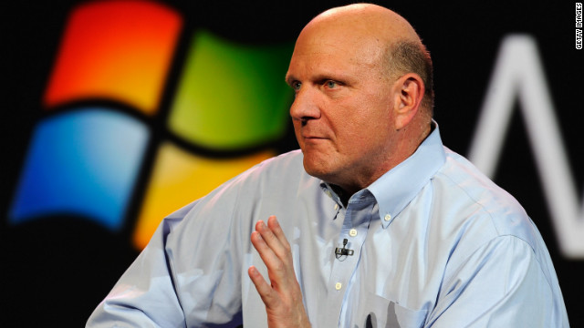 Microsoft's new Outlook e-mail service may be a hit. But CEO Steve Ballmer has an e-mail address problem.