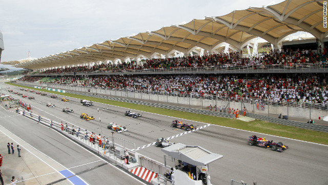 The Bahrain Grand Prix was due to be the opening race of the 2011 season, before being cancelled.