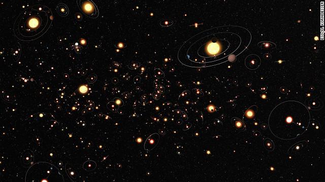 Cada estrella de la Vía Láctea es acompañada al menos por un planeta