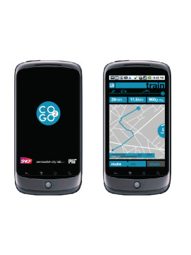 It automatically detects the mode of transportation, tracks distance covered and, using smartphone sensors, like the accelerometer and GPS, deploys an algorithm to calculate the user's carbon emissions.
