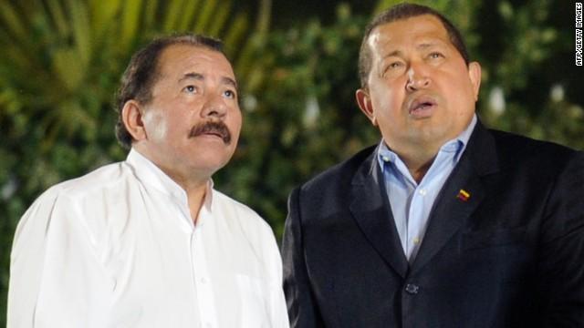Ahmadinejad en tierra de Daniel Ortega