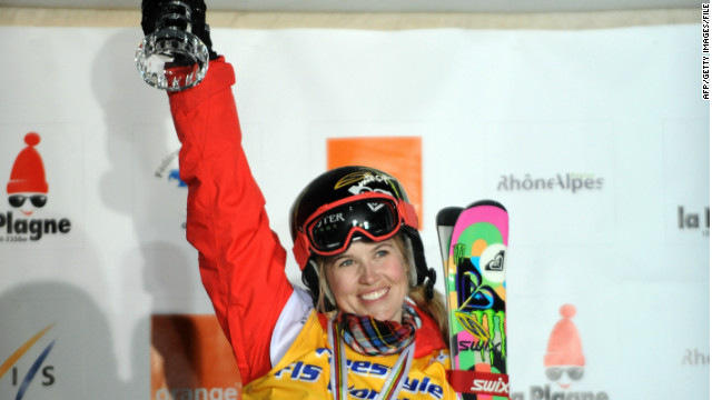 Freestyle ski champ still critical after surgery