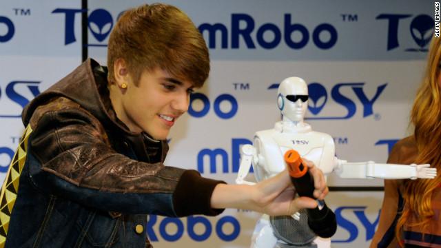 Justin Bieber arruinó la feria CES a una empresa de robots