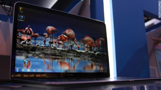 Ultrabooks -- thin, light and metal laptops -- are a common object of desire at CES. But the price may deter some. Dell has managed to deliver an attractive yet relatively affordable Ultrabook at $999. The XPS 13 is expected to be available in February.