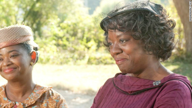 Viola Davis, right, shown with Octavia Spencer, was nominated for a Best Actress Academy Award for her role in 