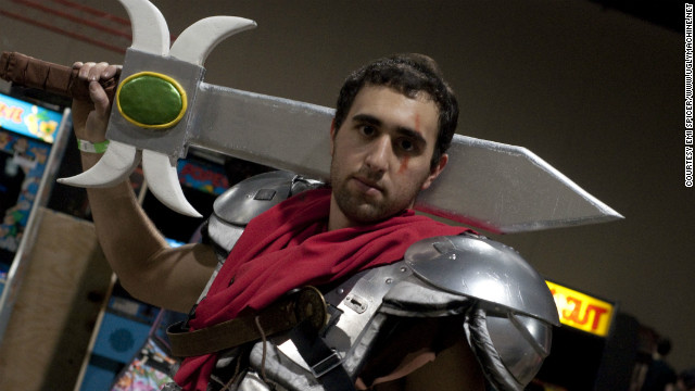 Video game cosplayer