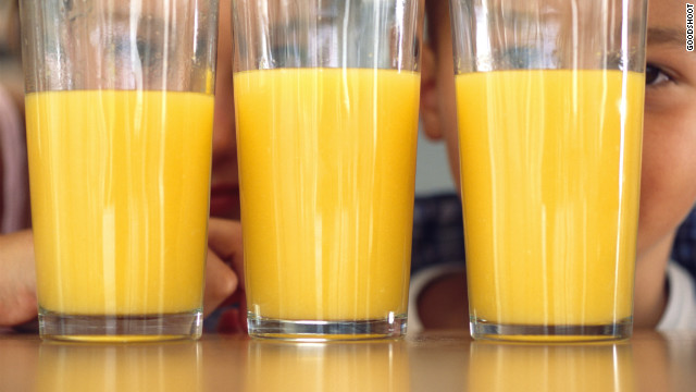 OJ unsafe to drink? FDA says it's pulp fiction