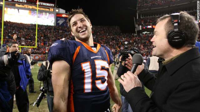 My Take: Momma's boy Tim Tebow meets playboy Tom Brady