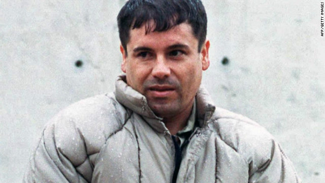 Joaquin Guzman, or &quot;El Chapo&quot; (Shorty), is the boss of the Sinaloa cartel. In this last-known photo taken outside a Juarez prison in 1993, the 5 foot 6 inch son of a poor family wears a schoolboy haircut and a disheveled puff-coat. He has eluded capture for more than a decade.