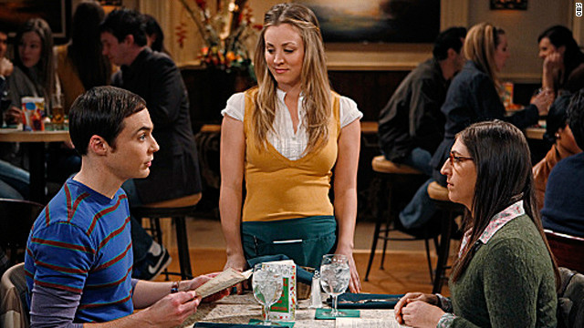 """The Big Bang Theory,"" created by Chuck Lorre and Bill Prady, is airing its sixth season on CBS. The show's Thursday, December 13, episode garnered<a href='http://tvbythenumbers.zap2it.com/2012/12/14/tv-ratings-thursday-big-bang-theory-two-and-a-half-men-person-of-interest-greys-anatomy-scandal-the-x-factor-down/161799/' target='_blank'> more than 16 million viewers,</a> making it the most-watched program that night."