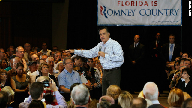 Votarn por Romney los republicanos e independientes en Florida?
