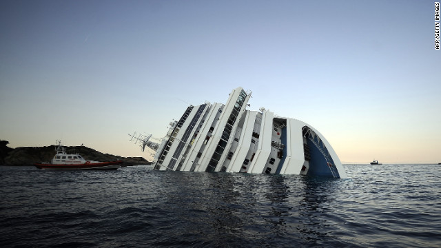 The people of the Costa Concordia cruise ship disaster