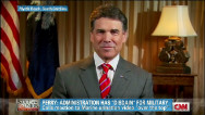 Perry: W.H. has &#039;disdain for military&#039;