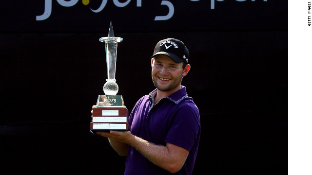 Branden Grace claims the first European Tour win of his career