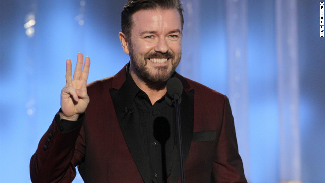 The Golden Globes also saw a ratings spike in 2011 -- could it be because of Ricky Gervais' controversial hosting?