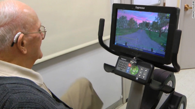 Study: &#039;Exergames&#039; boost brain function among seniors