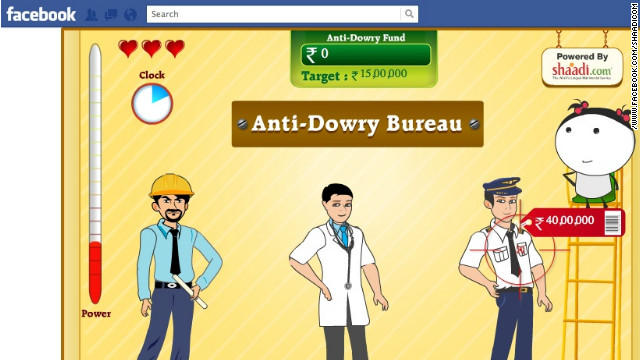 'Angry Brides' game hopes to put spotlight on dowry concerns