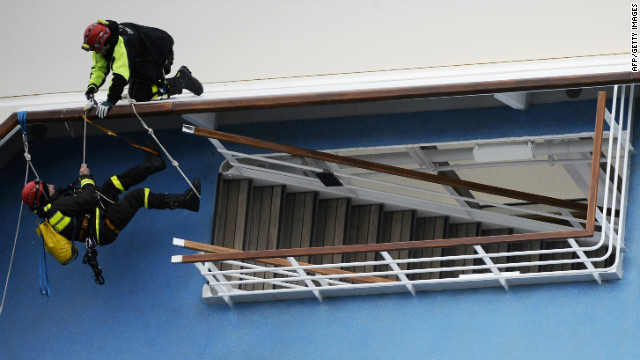 El número de desaparecidos por el naufragio del «Costa Concordia» aumenta a 29
