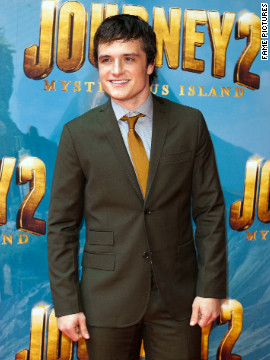 Josh Hutcherson attends a movie premiere in Melbourne, Australia.