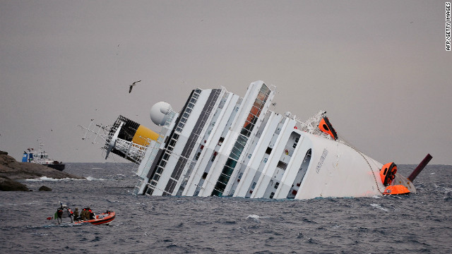 Cruise ship disaster: A search for survivors and answers