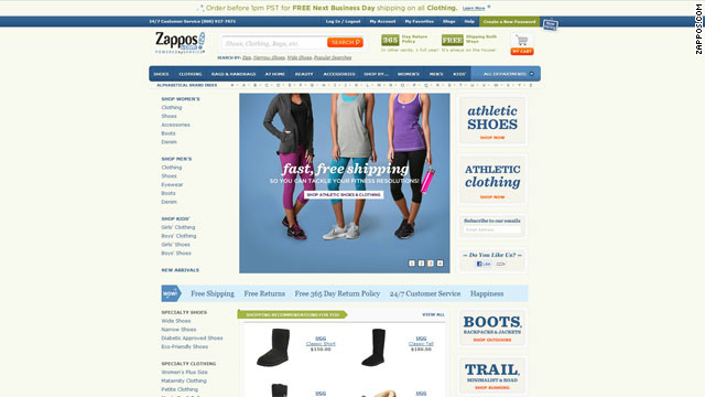 Zappos.com hacked; 24 million customers affected