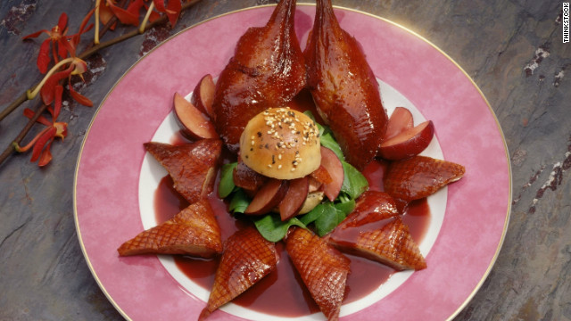 Breakfast buffet: National Peking duck day