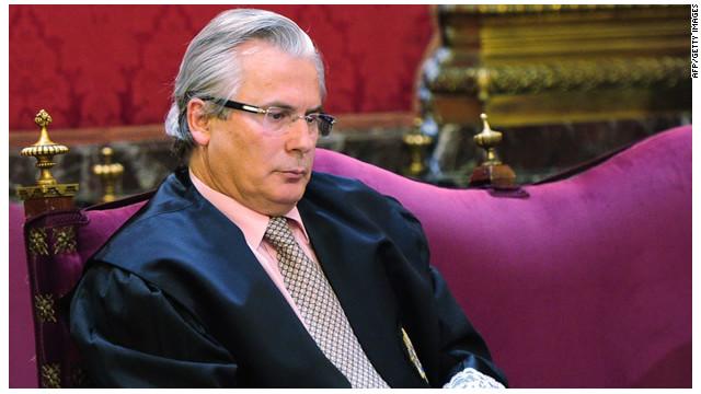 Argentina concede la residencia temporal a Baltasar Garzón