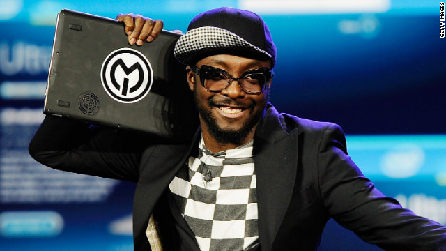 At CES 2012, Will.i.am announced that he's doing a global tour with Intel to promote its new Ultrabooks.