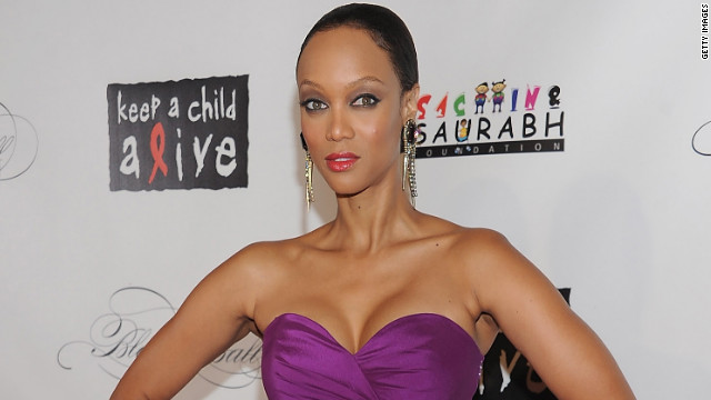 Tyra Banks had gone to China shortly before the holidays to tape the latest season of