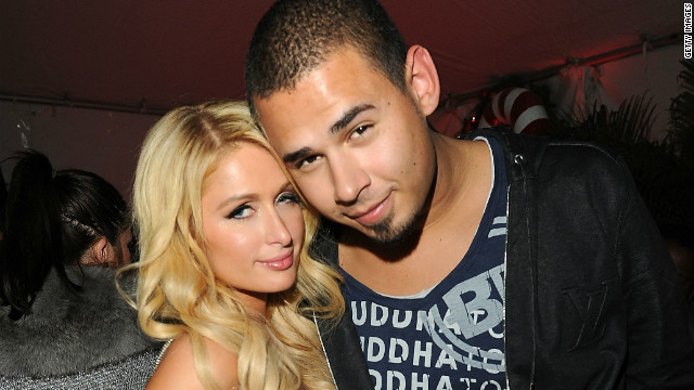 Paris Hilton and Afrojack are just friends. You can breathe now.