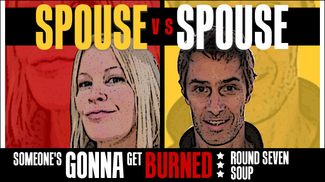 Spouse vs Spouse: a soup showdown