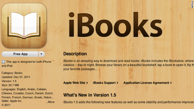 Apple is also expected to announce support for the ePub 3 standard for iBooks.