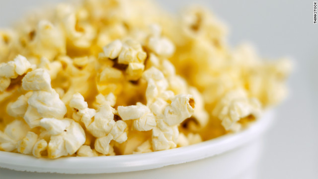 Breakfast buffet: National popcorn day