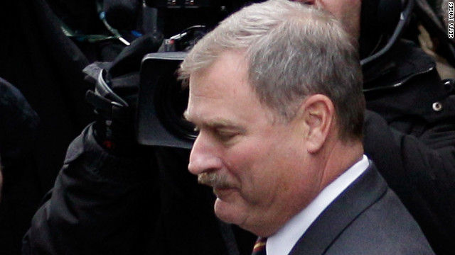 Ex-Penn State vice president had secret file on Sandusky allegations, document indicates
