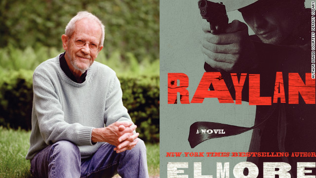 Author Elmore Leonard returns to one of his favorite characters in