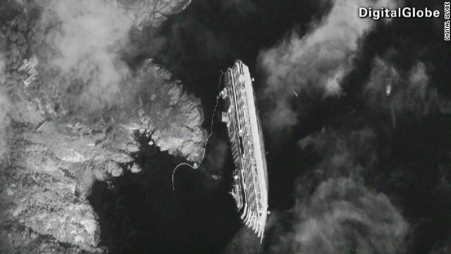 Italia considera terminar el operativo de rescate en el Costa Concordia